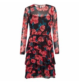 French Connection Jurk - Allegro Ruffle Poppy