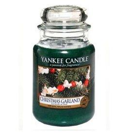 Yankee Candle Christmas Garland Large Jar