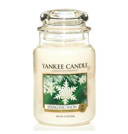 Yankee Candle Sparkling Snow Large Jar
