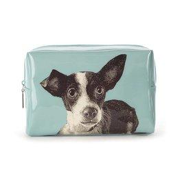 Catseye Dog Etching - Toilettas