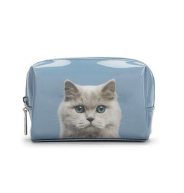 Catseye Cat on Blue - Make-uptas
