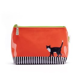 Catseye Cat on Stripe - Make-uptas