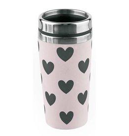 Miss Etoile Travel Mug - Hearts Rose