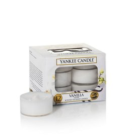 Yankee Candle Vanilla Tealights 12 st