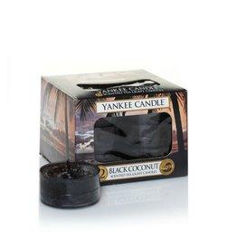 Yankee Candle Black Coconut Tea Lights 12 st