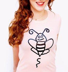 Bee Happy Coral