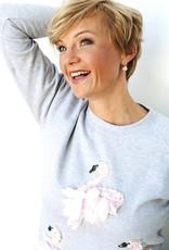 Sweater Swanlake Passion Grijs