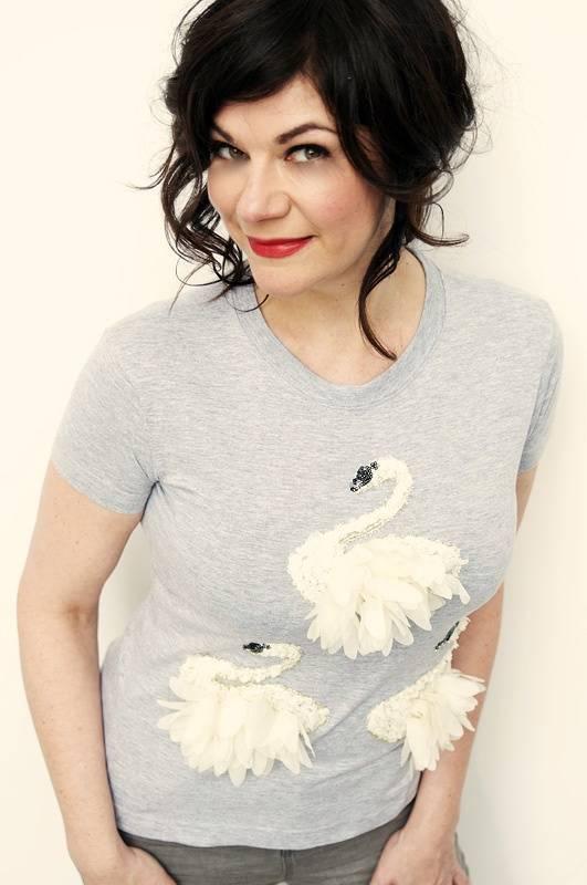 T-shirt Swanlake Passion Grijs
