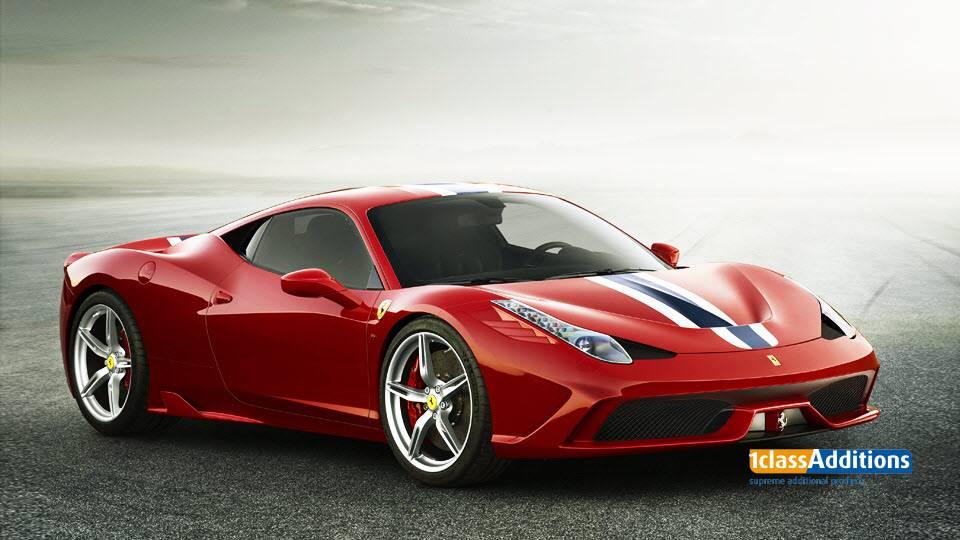SUPERTEX carcover voor Ferrari 458.