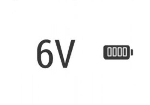6v accu voor Senco