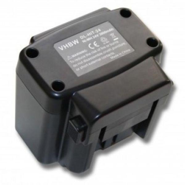 Hitachi Accu Hitachi 24v 3000mAh 3,0Ah NI-MH Replacement  EB 2420 EB 2430HA EB 2430R EB 2433X