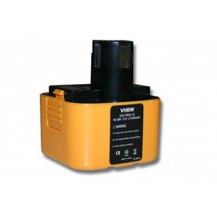 Accu Panasonic 12v 2100mAh 2,1Ah Ni-MH Replacement EY9200