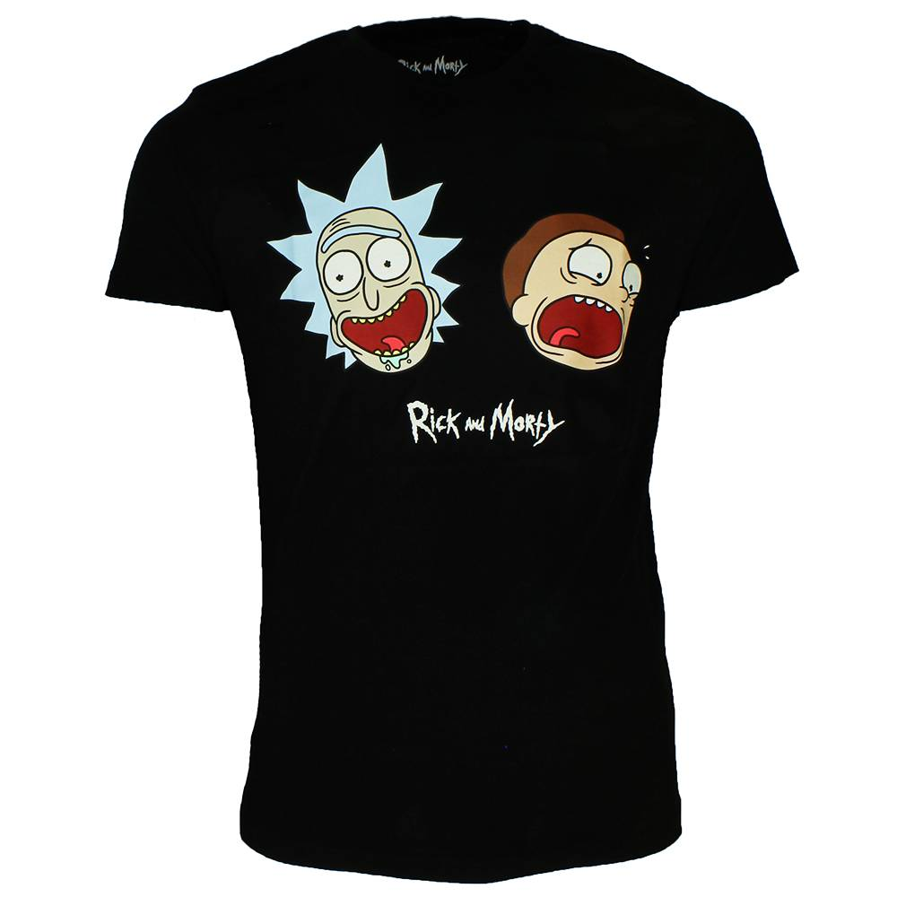 e3c1b249750 Rick and Morty Rick and Morty Faces T-Shirt