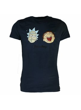 Rick and Morty Rick and Morty Wasted Faces T-Shirt