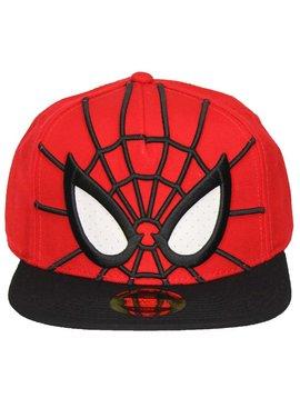 Marvel Comics Spider-Man 3D Snapback Cap with Mesh Eyes