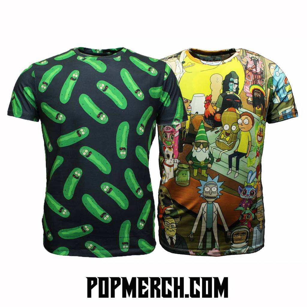 All over Print Rick and Morty T-shirts!