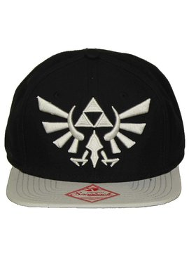 The Legend of Zelda The Legend of Zelda Hyrulian Crest Logo Snapback Cap Pet