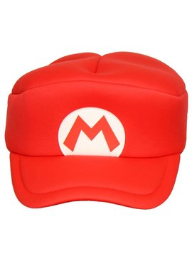 Super Mario Bros Super Mario Cosplay Cap for Kids