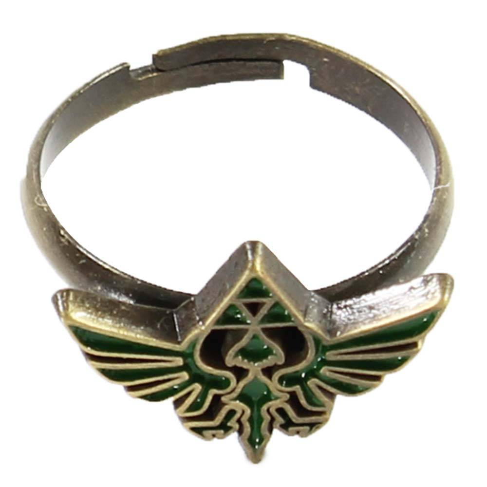 The Legend of Zelda The Legend of Zelda Triforce Ring Goud/Groen