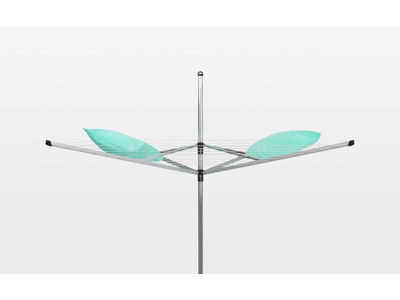Brabantia Droogmolen Lift O Matic 60 meter met grondanker en beschermhoes