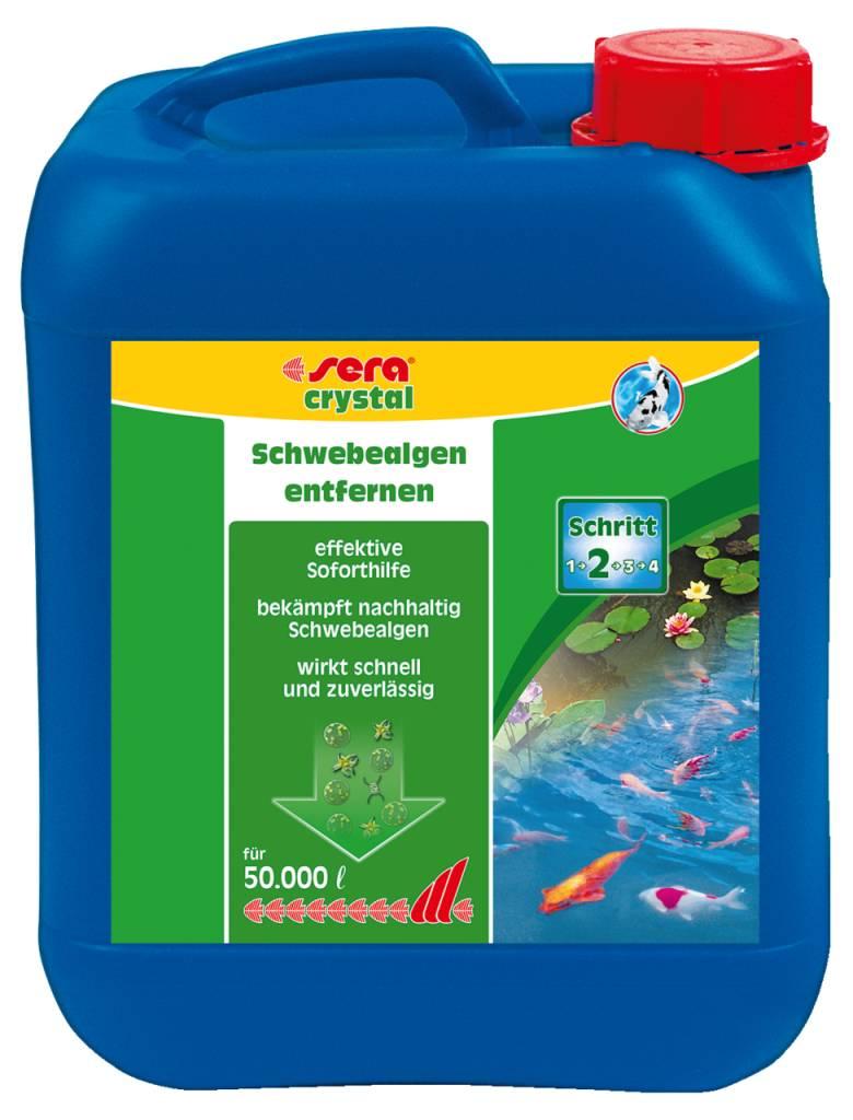 Sera f r ungetr bte teichfreude gegen schwebealgen for Teichfische die algen fressen