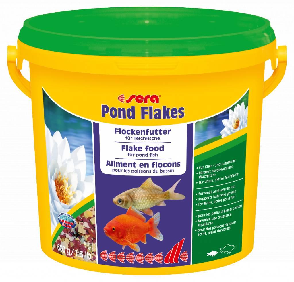 Sera das flockenfutter f r kleinere teichfische samaki for Teichfische die algen fressen