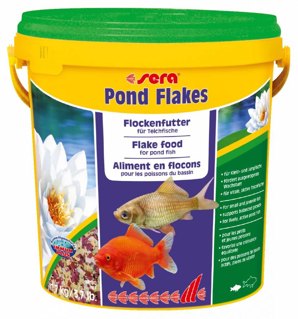 Sera das flockenfutter f r kleinere teichfische for Kleine teichfische