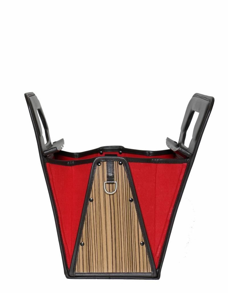 Brigitte zebrano hout