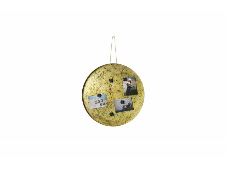 Be Pure Home Memories Magneetbord 50cm Antique Brass