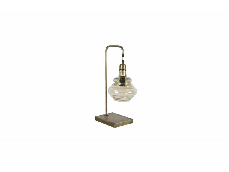 Be Pure Home Obvious Tafellamp Antique Brass