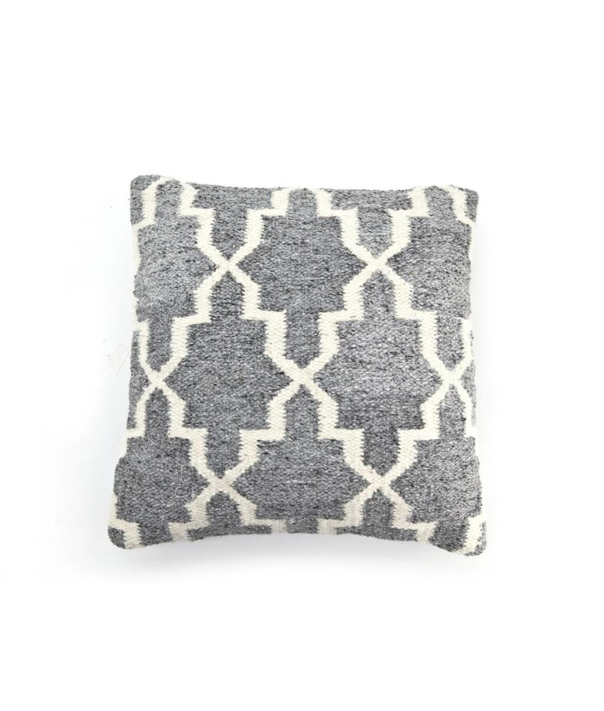 By-Boo Pillow Pearl 50x50 cm Grey
