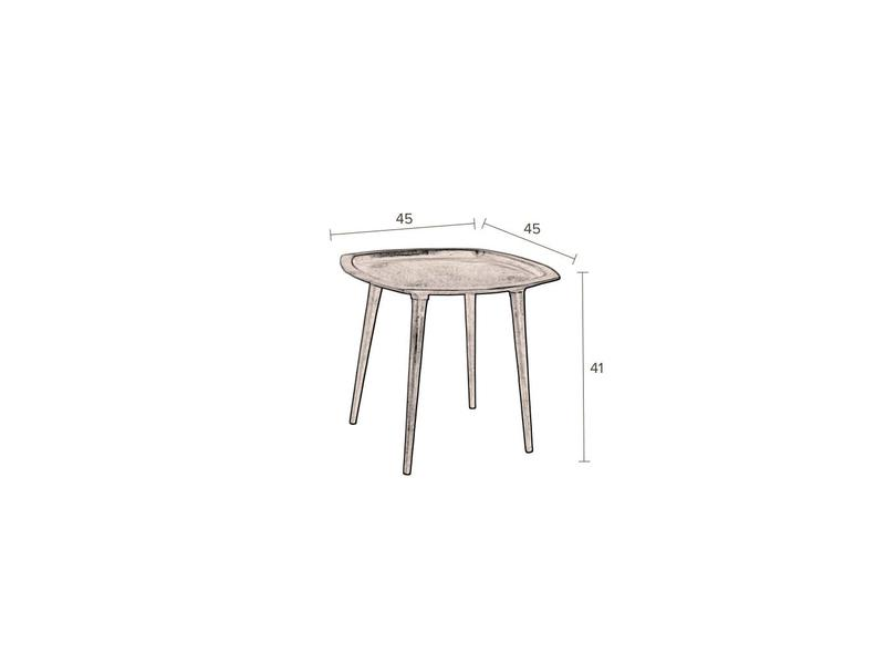 Dutchbone SIDE TABLE ABBAS