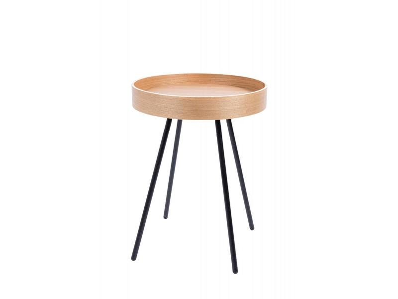 Zuiver SIDE TABLE OAK TRAY