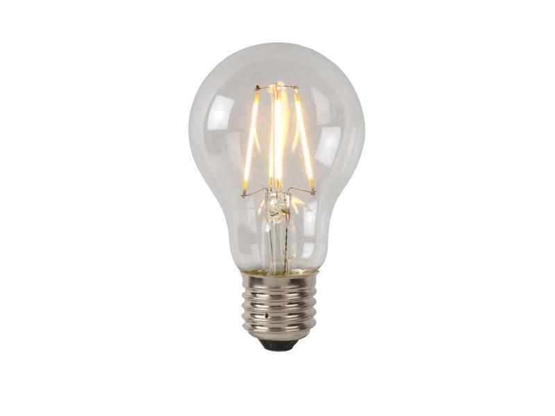 Lucide LED BULB- Filament lamp- diam. 6 cm- LED Dimb.- 1x5W 2700K- Transparant