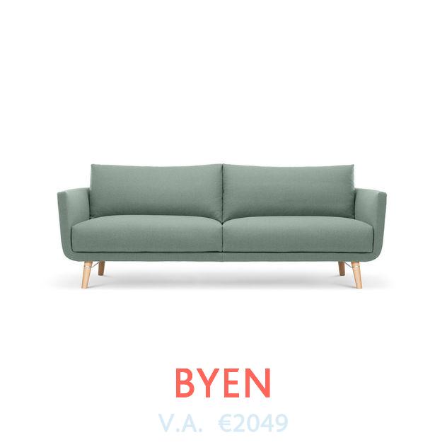 Bank Byen van Design On Stock beschikbaar bij DOTshop, live te zien in Amsterdam en Haarlem