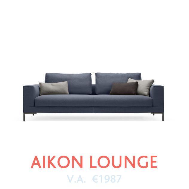 Bank Aikon Lounge van Design On Stock beschikbaar bij DOTshop, live te zien in Amsterdam en Haarlem