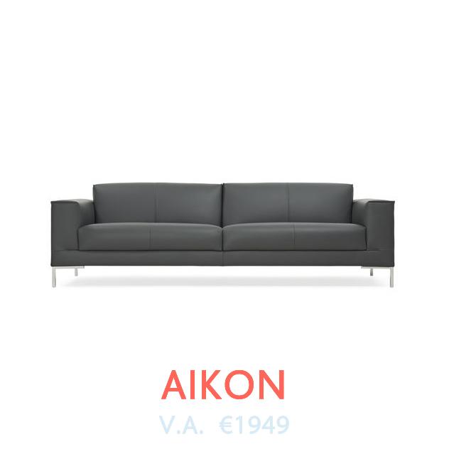 Bank Aikon van Design On Stock beschikbaar bij DOTshop, live te zien in Amsterdam en Haarlem