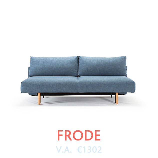 Frode Slaapbank van Innovation bij DOTshop - Design Sofa beds in Holland