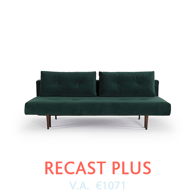 Recast Plus Slaapbank van Innovation bij DOTshop - Design Sofa beds in Holland