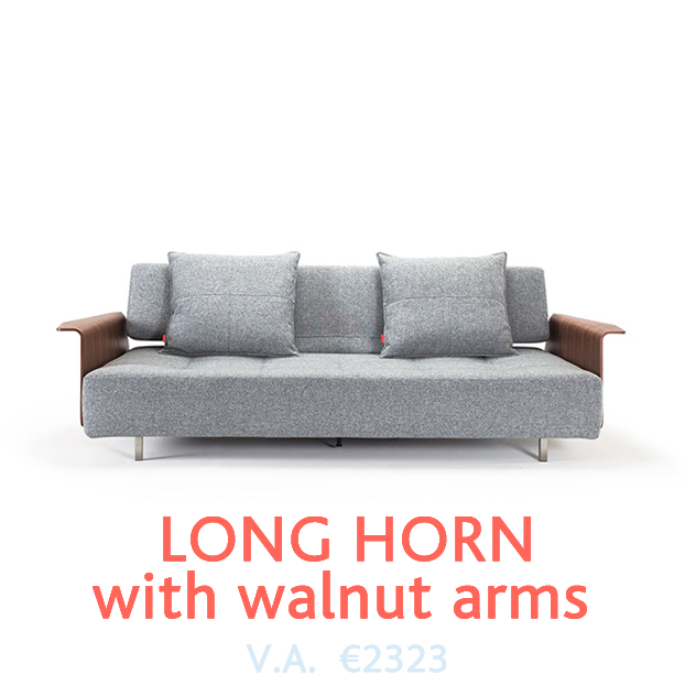 Long Horn Slaapbank van Innovation bij DOTshop - Design Sofa beds in Holland