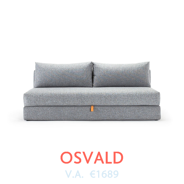 Osvald Slaapbank van Innovation bij DOTshop - Design Sofa beds in Holland