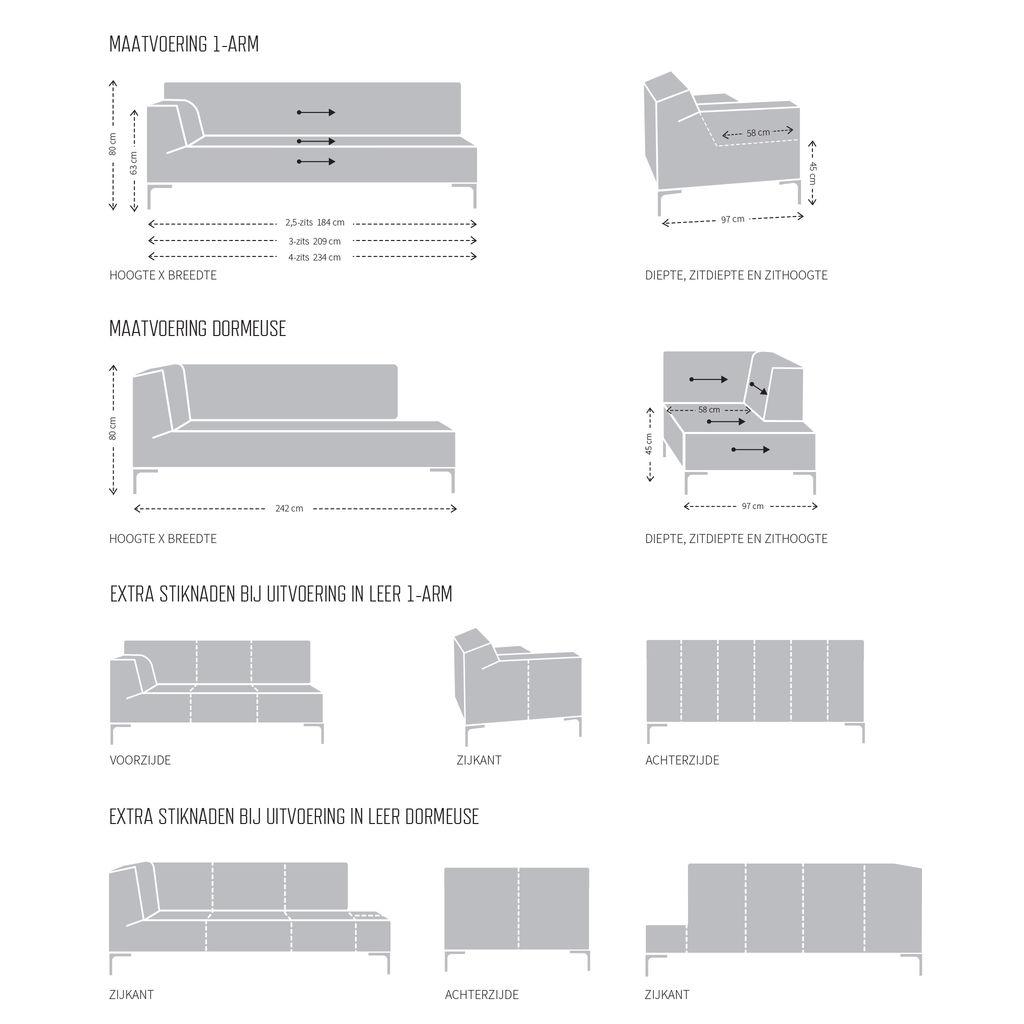 Bank Bloq Van Design On Stock.Bloq Dormeuse Van Design On Stock Dotshop