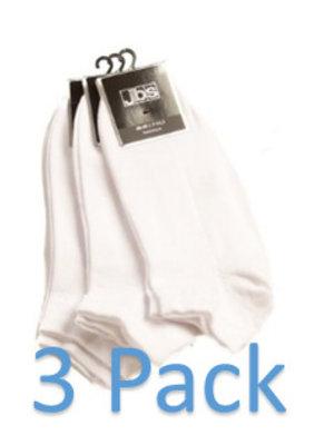 Enkelsok wit (3pack)