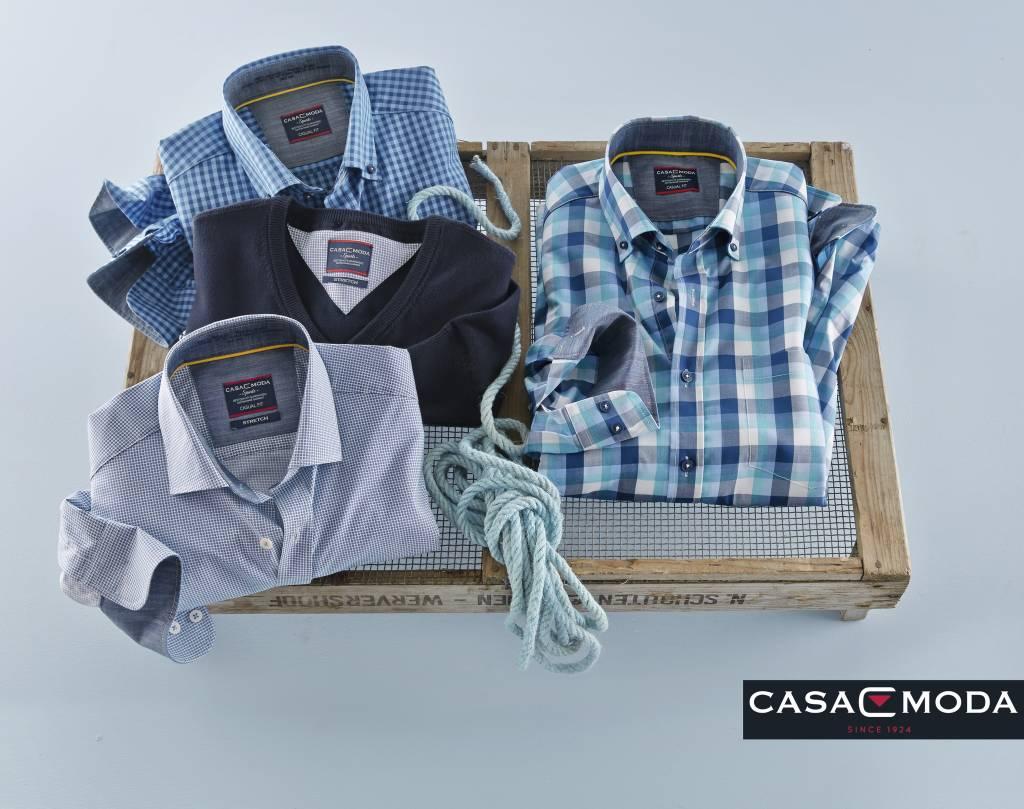 Casamoda Denim Overhemd Uninah Casa Moda