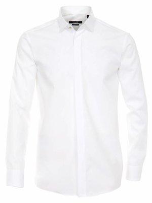 Casamoda Casa Moda Effen Poplin Overhemd