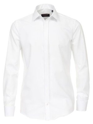 Casamoda Casa Moda Poplin Overhemd Uninah moderne pasvorm