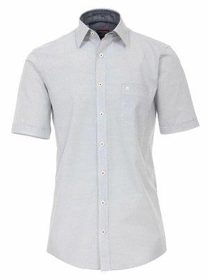 Casamoda Trendy Casa Moda overhemd korte mouw