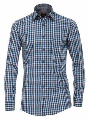 Casamoda Geruit overhemd Casa Moda Poplin