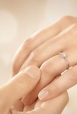 Verlobungsring Heaven 4 Weißgold
