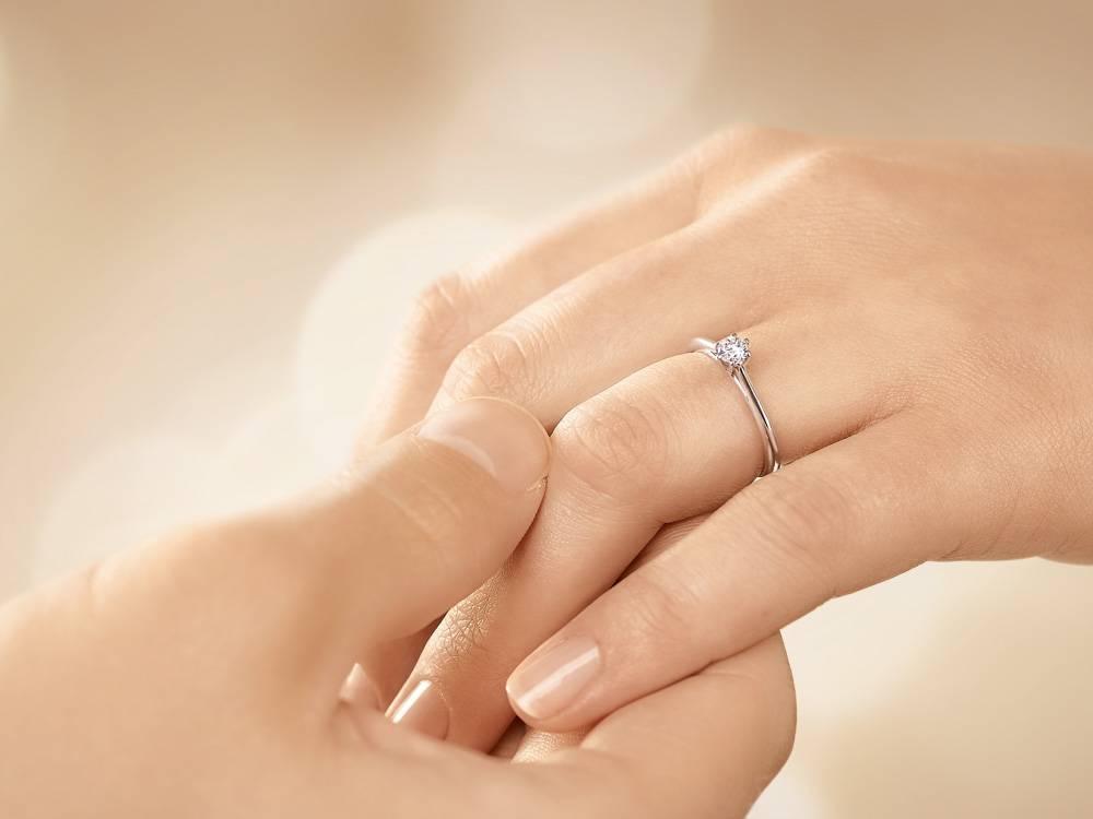 Verlobungsring Heaven 6 Weißgold